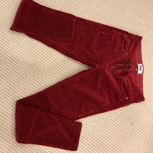 👖 Verdugo Velvet Skinny Pants