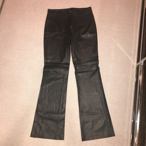 ZARA leather pants NWOT