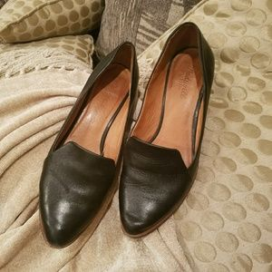 Madewell by J.Crew Stacked Heel Leather Loafer