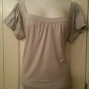Women plus size knit  top