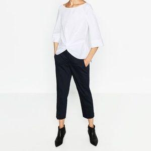 Zara / Knot Front Blouse