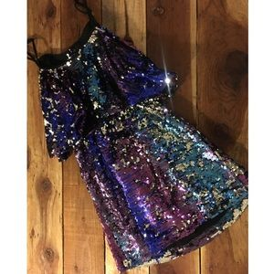Lovers + Friends Sequin Mini Dress
