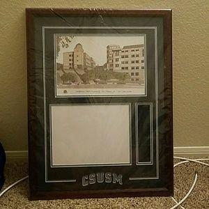 California State San Marcos Degree FrameNWT for sale