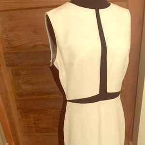 Catherine Malandrino black and white dress