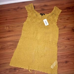 ✨NEW✨ Forever 21 Crocheted Tunic