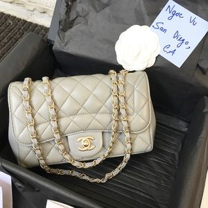 Chanel Mademoiselle Chic Flap Bag Mini