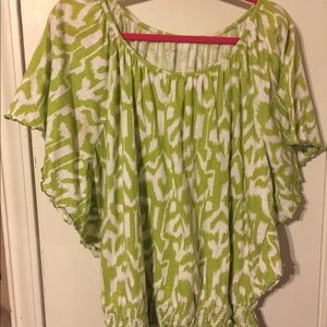 Tunic top by Kim Rogers size 1X