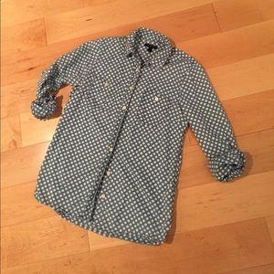 J.Crew cotton shirt size 4