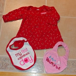 Child of mine Carter's Valentine's outfit