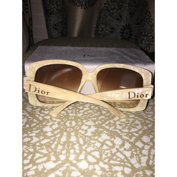 5c34191ddaf Dior Accessories - Dior Ivory Sunglasses