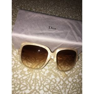 Dior Ivory Sunglasses