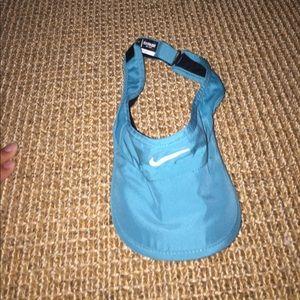 Nike blue visor