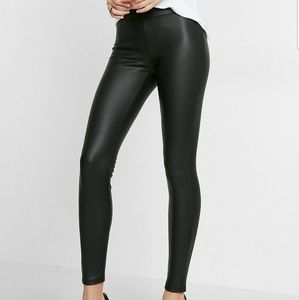 Express leather leggings