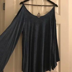 Distressed Retro Dress