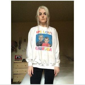 90s VTG  Subversive Grandma Sweatshirt