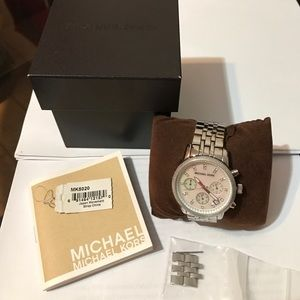 Authentic Michael Kors Pearl Face Watch