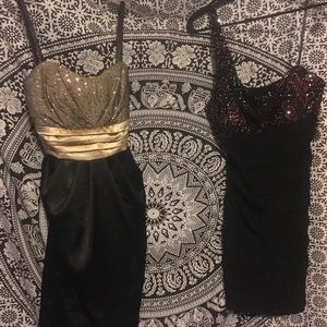 Two cocktail dresses juniors 11 sexy!