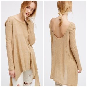 NWT The Incredible Free People Drape Back Thermal
