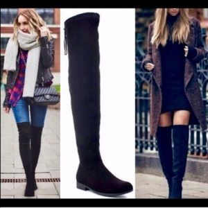 🌟BEST SELLER🌟🖤Black Over-the-Knee Boots