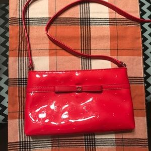 Authentic Kate Spade cross body bag in Coral