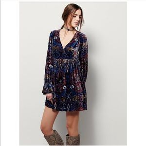🆕 Free People Velvet Burnout Dress