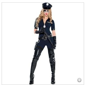 Adult stop traffic sexyc cop costume 😍
