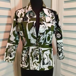 Artsy, Funky, Unique Jacket, Small, Like New
