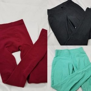 Bundle of 3 plus size leggings