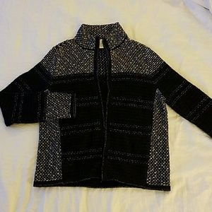 Chicos sweater with zipper