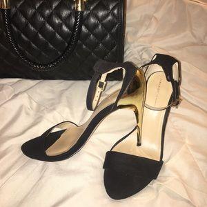 Classy Gold Zara Heels