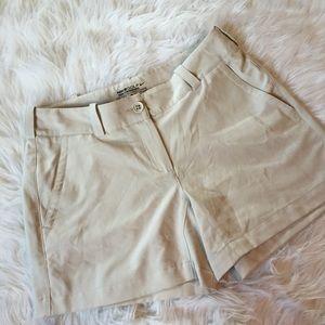 Womens Nike gold shorts