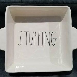 "New Rae Dunn ""STUFFING"" Casserole Baking Dish"
