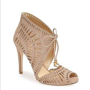 Ivanka Trump Delfino Sandal Heel SZ 10