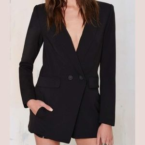 NWT RE:NAMED BLAZER PLAYSUIT