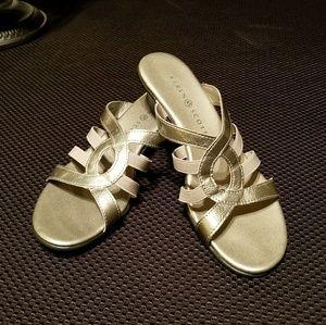 Karen Scott Silver Sandals