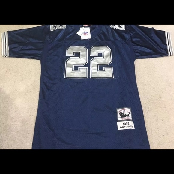fc887731790 Other | Emmitt Smith 22 Mitchell Ness Authentic Jersey | Poshmark