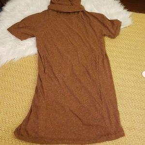Light Brown ZARA Collection Dress 🍂🍂 Pockets