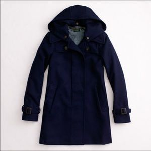 J Crew Factory Wool Duffle Coat🍂
