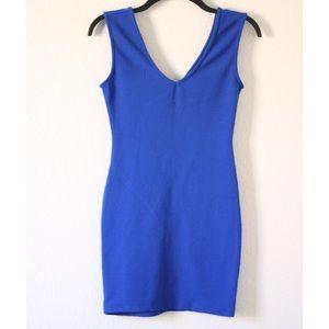 Cobalt Blue Bodycon Dress
