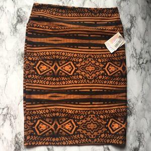 LulaRoe Trendy Tribal Cassie Skirt