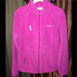 Columbia Mid Weight Fleece Breast Cancer Jacket