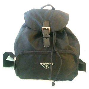 Prada mini back pack