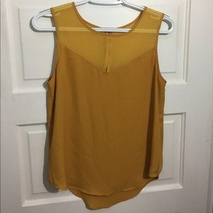 Adorable mustard colored top