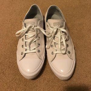 White Gemma Converse Shoes
