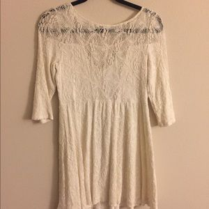Free people lace dress (wore once)