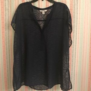 Old Navy Embroidered Sheer Top - Size XXL