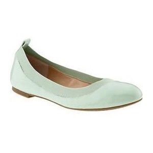 Banana Republic Mint Green Ballet Flats size 7