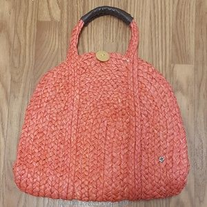 NWT Flora Bella Straw Tote Bag Handbag Purse