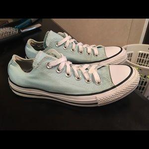 Blue converse
