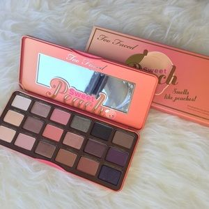New Too Faced Sweat Peach Palette